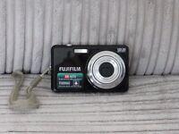 fuji finepix j37 black digital camera