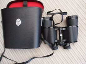 Optomax Binoculars, coated lenses 16x50 Field 4 No.82972 with case