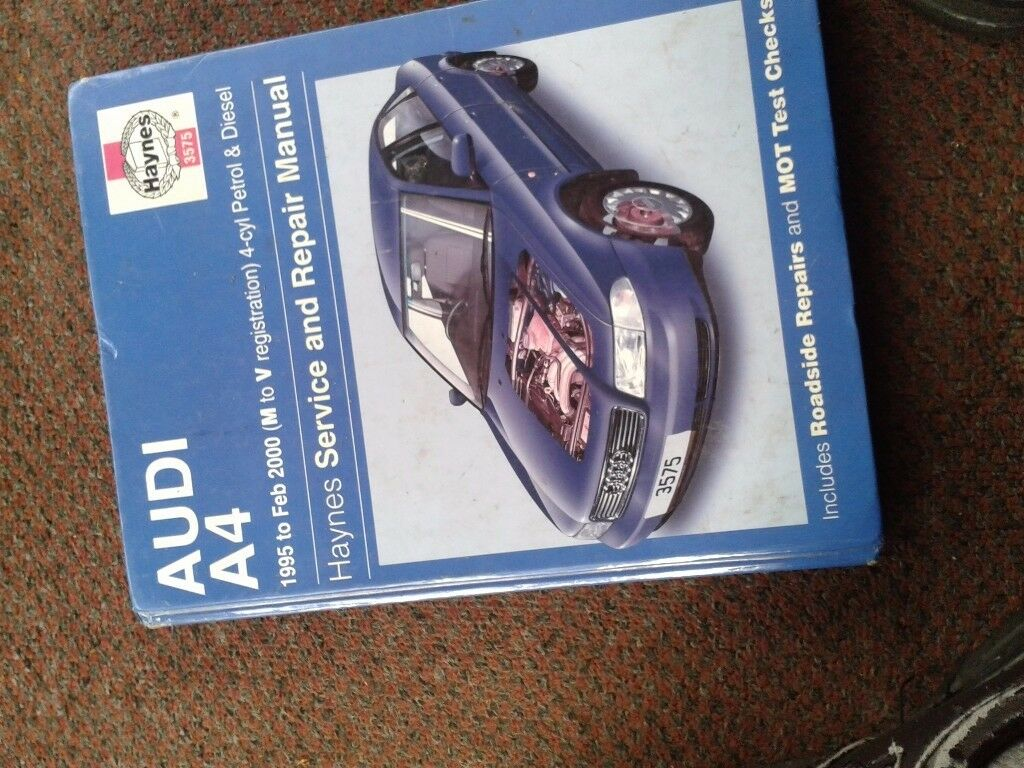 haynes a4 repair manual 95 to 2000