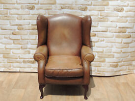 Laura Ashley High Back Wing Chair (Delivery)