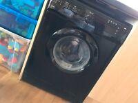 Black NEXT washing machine