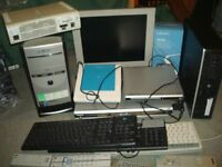 TOSHIBA RD-XS24 plus pc base,monitor,xbox,dvds all as a job lot