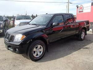 2013 NISSAN FRONTIER SV CREW CAB 4WD LWB