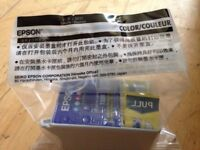Genuine still sealed original packaging Epson ink cartridges T007 and T009