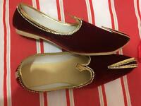 Mens Asian wedding shoes pumps pakistani indian bengali Dhamanis