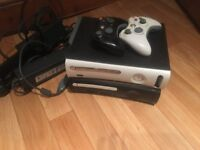 2 Xbox 360s and 2 controllers