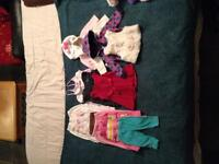 Unmarked, clean baby clothes 0-6 months