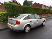 Vauxhall Vectra, 6 Speed, 2004, Silver, 1.9cdti Diesel, 12 MONTHS MOT, Full Service History.