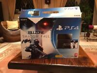 PS4 500GB + two controllers + 1 game