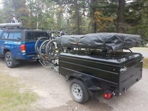 Expedition Gear Trailer for Roof Top Tent