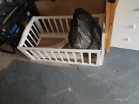 Free unisex crib pick up from Huyton