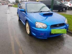 Subaru sti 2ltr turbo wide track