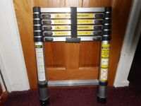 SOLD - Telescopic Ladder - 2.6m when extended..