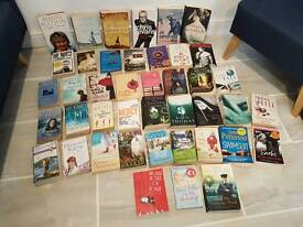 mixture of books all in good used condition
