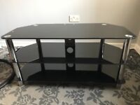 Glass TV Stand FREE TO COLLECT