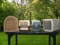Pet carriers - small charitable donation requested - Thurlby, Lincs.