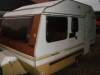 Caravan spares repair parts fishing camping retro festival