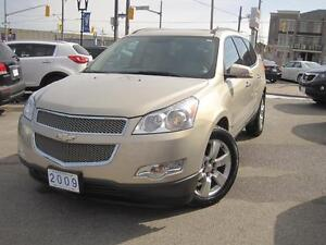 2009 CHEVROLET TRAVERSE LTZ | NAV/CAM • 2 Sunroofs