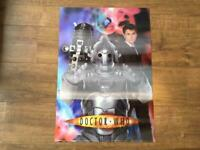 Dr Who 3D plastic poster