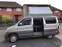 Mazda Bongo Campervan 2.5l petrol/LPG conversion Swivel front seats Side conversion, mushroom roof