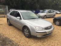 2003 Ford Mondeo 2.0 Diesel 1 Years MOT Service History Low Milage Cheap Car