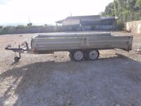 Twin wheeled Trailer / Car Trailer with brakes