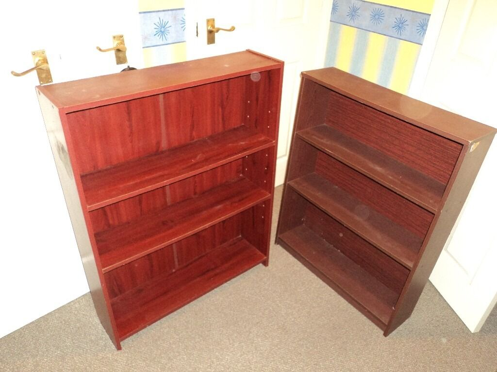 Bookcases (x2in Coventry, West MidlandsGumtree - x2 Mahogany Bookcases. Theyre not immaculate, but nothing that a nice polish wont sort out. Just £16.99 for them both!
