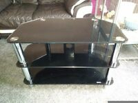 Glass 3 tier TV Stand.