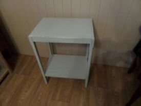 2 tier Painted Table