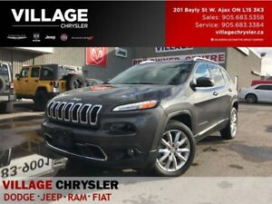 2017 Jeep Cherokee Limited|Tech Group|Nav|Leahter