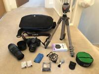 Canon EOS 600D Camera Kit + Accessories