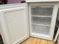 basic 3 drawer under counter CURRYS freezer - one year old good working order