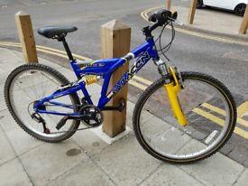 Boys Saracen Mountain Bike