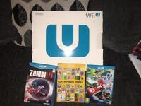 Wii u with 3 games , swap for PS4