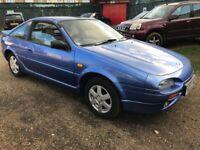 Nissan 100 NX T-Bar 1597cc Petrol Automatic 3 door hatchback M Reg 27/04/1995 Blue