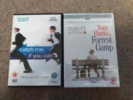 Tom hanks films- catch me if you can and forest gump