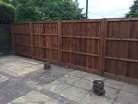 Fencing, Timber or Concrete