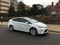 2013 toyota prius 1.8 t spirit hybrid automatic, 88k interior leather, hpi clear 100%