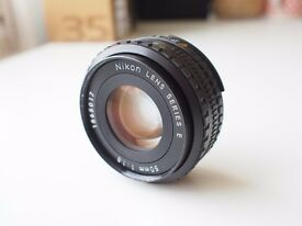 Nikon E Series 50mm f/1.8 Ai-s pancake lens