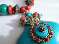 *CHARITY SALE* Unique Turquoise Necklace