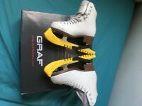 Graf 500 2014 Ice skates size 34