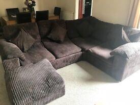 Corner sofa £100