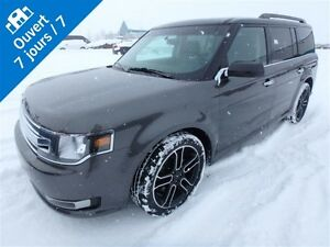 2015 Ford Flex SEL, AWD BLUETOOTH, BANC CHAUFFANT, CUIR, NAV, TO