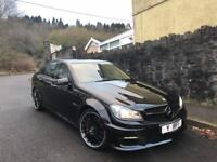 2014 Mercedes C63 AMG Saloon 6.2 V8 460bhp Black Immaculate Condition