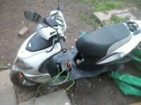exchange 125cc scooter needs worked on