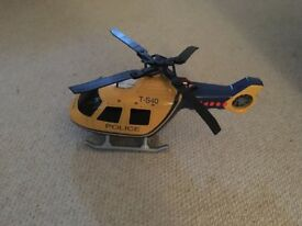 John Lewis helicopter