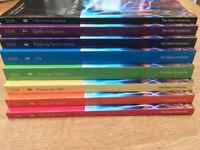 Open University S104: Exploring Science; Text Books, CDs and Home Practical Kit *NEW & UNUSED*
