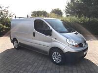 2007 Renault Trafic 2.0 TD dCi SWB Van, NEW MOT, A/C, 115 BHP, NO VAT (Vauxhall Vivaro Sport)