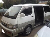 Toyota Hiace super custom old shape