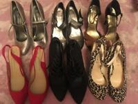 15 pairs ladies size 8 shoes